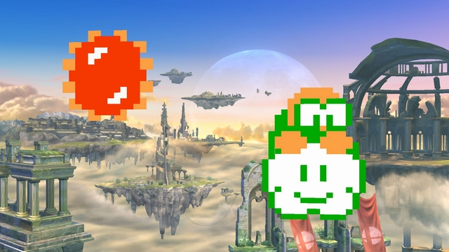 Super Smash Bros. for Wii U screenshot - Assist Trophies