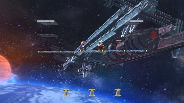 Super Smash Bros. for Wii U screenshot - Stage Builder
