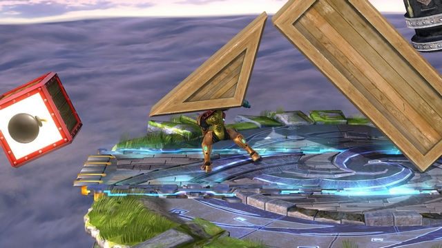 Super Smash Bros. for Wii U screenshot - Trophy Rush