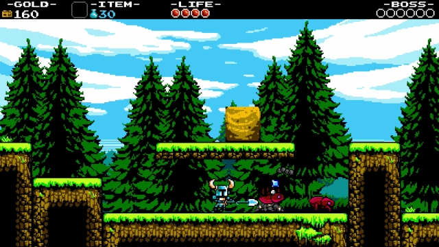 Shovel Knight screenshot - Plains