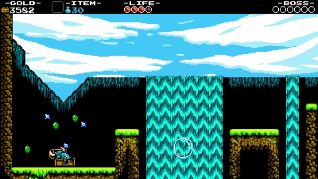 Shovel Knight screenshot - Plains