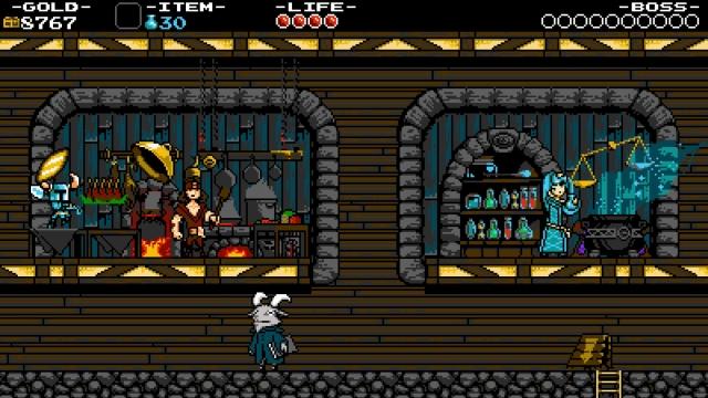 Shovel Knight screenshot - Village