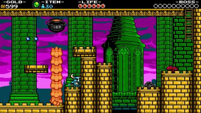 Shovel Knight screenshot - Pridemoor Keep