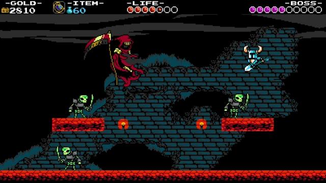 Shovel Knight screenshot - The Lich Yard
