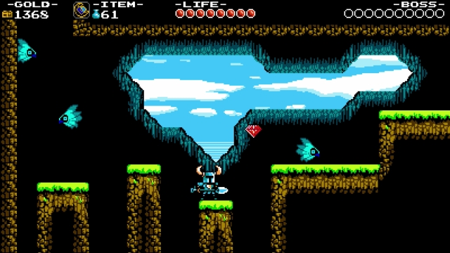 Shovel Knight screenshot - Forest of Phasing