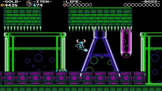 Shovel Knight screenshot - Explodatorium