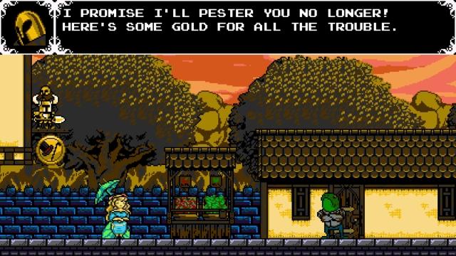 Shovel Knight screenshot - Armor Outpost