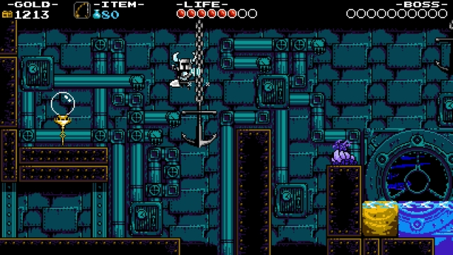 Shovel Knight screenshot - Iron Whale