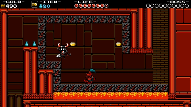 Shovel Knight screenshot - Lost City
