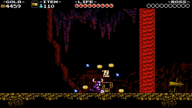 Shovel Knight screenshot - Knuckler's Quarry