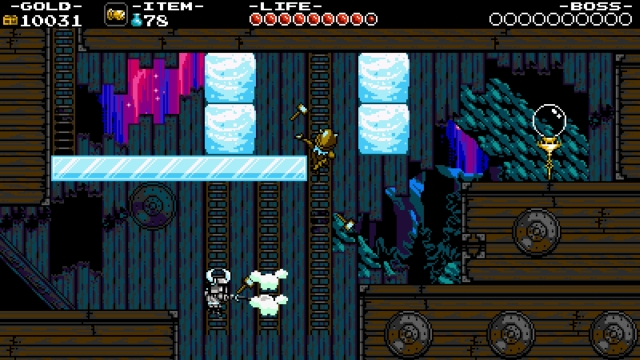 Shovel Knight screenshot - Stranded Ship