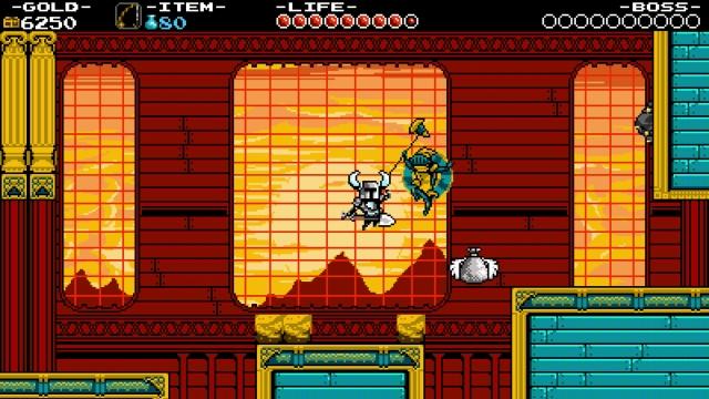 Shovel Knight screenshot - Flying Machine