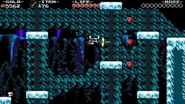 Shovel Knight screenshot - Frigid Flight