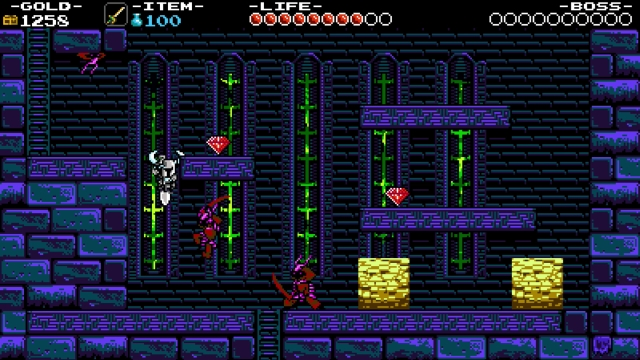 Shovel Knight screenshot - Tower of Fate: Entrance