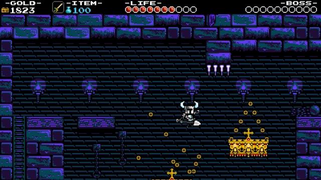 Shovel Knight screenshot - Tower of Fate: Entrance