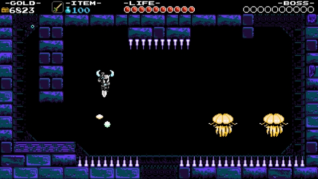 Shovel Knight screenshot - Tower of Fate: Ascent