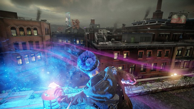 InFAMOUS: First Light screenshot - Violence in Seattle