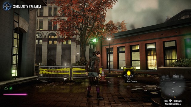 InFAMOUS: First Light screenshot - Tracking the Trafficker