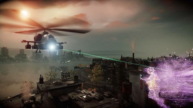 InFAMOUS: First Light screenshot - Surveillance Blackout