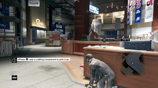 Watch Dogs screenshot - Act I: Bottom of the Eighth
