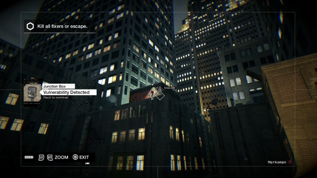 Watch Dogs screenshot - Act I: Thanks for the Tip