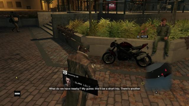 Watch Dogs screenshot - Act II: Breadcrumbs