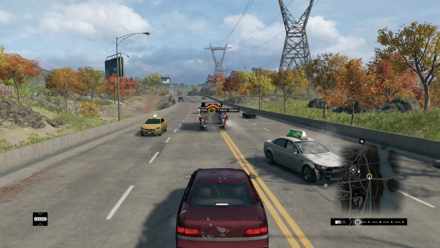 Watch Dogs screenshot - Act II: Way Off the Grid