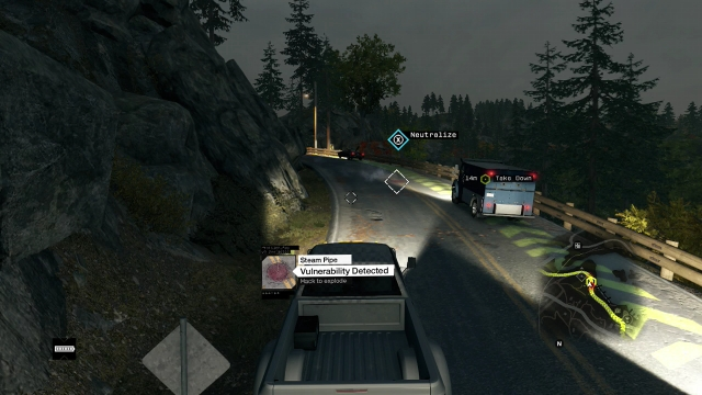 Watch Dogs Destroy Armored Truck