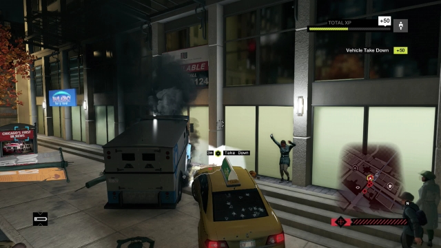 Watch Dogs screenshot - Criminal Convoys