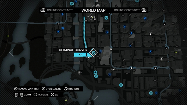 Watch Dogs screenshot - Criminal Convoys