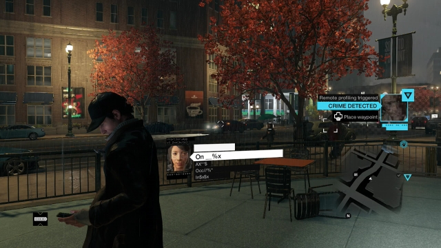 Watch Dogs screenshot - Crimes Detected