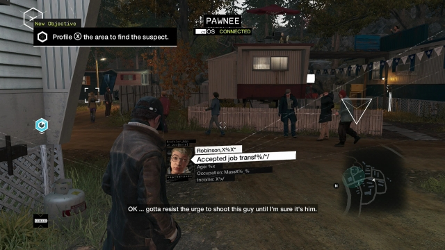 Watch Dogs screenshot - Missing Persons