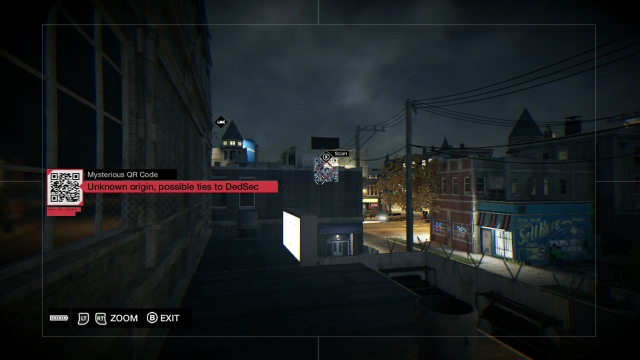 Watch Dogs screenshot - QR Codes