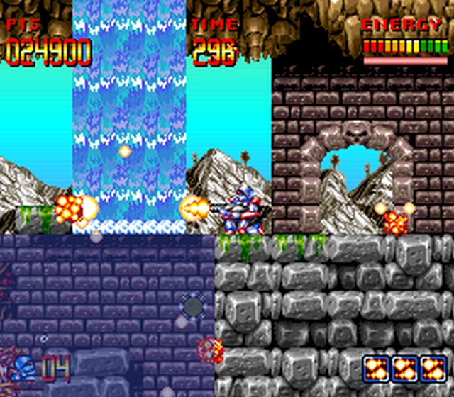 HonestGamers - Super Turrican (SNES) review by Follow_Freeman