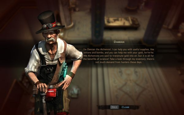 Victor Vran (PC) screenshots and images