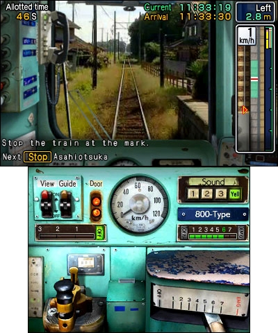 HonestGamers - Japanese Rail Sim 3D: 5 types of trains (3DS)