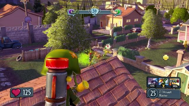plants vs zombies garden warfare xbox one image - Plants Vs Zombies Garden Warfare Xbox One