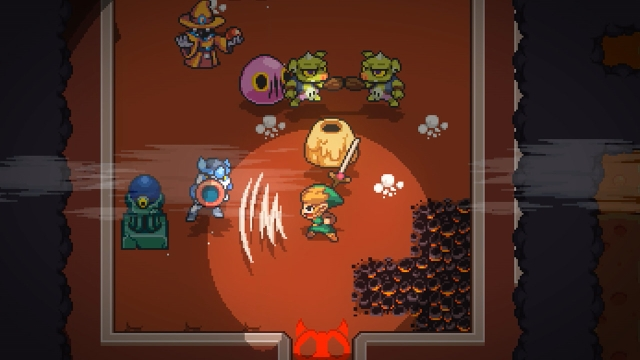 Cadence of Hyrule: Crypt of the NecroDancer Featuring The Legend of Zelda arrives this week