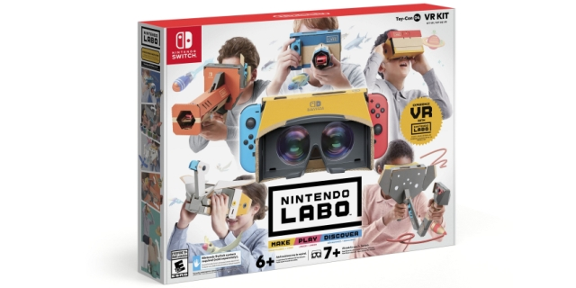 Nintendo announces Nintendo Labo: VR Kit to make virtual reality worlds on its hardware... a reality