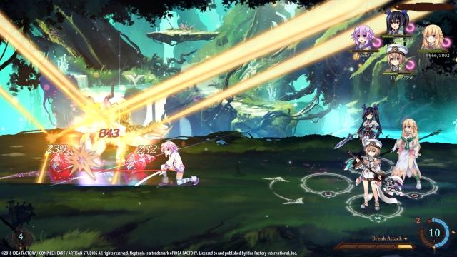 Super Neptunia RPG targets a Spring 2019 release window in North America