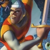 Dragon's Lair 3D (GCN) game cover art