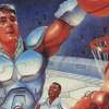 Bill Laimbeer's Combat Basketball (SNES) game cover art