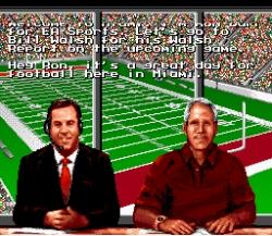 bill walsh college football snes
