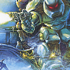 Cybernator (SNES) artwork