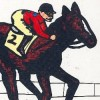 Derby Jockey: Kishou e no Michi (SNES) game cover art