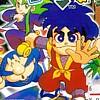 Ganbare Goemon: Kirakira Douchuu - Boku ga Dancer ni Natta Riyuu (SNES) game cover art