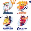 J-League Super Soccer '95: Jikkyou Stadium artwork