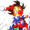 Kid Klown in Crazy Chase (SNES) artwork