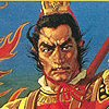 Romance of the Three Kingdoms III: Dragon of Destiny (SNES) game cover art