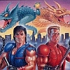 Super Double Dragon (SNES) game cover art